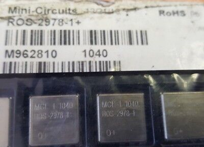 1x Mini-circuits Ros-2978-1 Osc Vco 2848-2978mhz 5v Vc 0.5-4.5v New