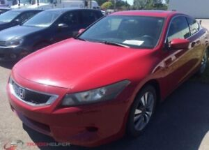2008  Coupé Accord EX a partir de 44$/Sem finc maison disponible