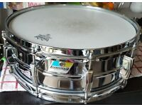 1970's Ludwig supraphonic snare drum 14x5
