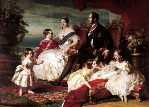 New 15x20 Print: Portrait of Queen Victoria, Prince Albert, and Their Children