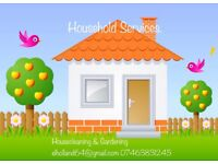 VERY EXPERIENCED CLEANER! HOUSEKEEPER & GARDENER AVAILABLE!