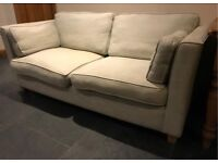 Laura Ashley style sofa - Silver Grey - perfect for the smaller room