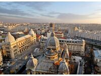 London to Bucharest at 13th - 17th October (Ryan Air/ BA)
