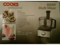 Cooks professional multi mixer food processor