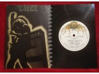 T Rex Electric Warrior A5 Handmade Vinyl Notebook