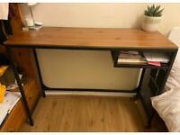 Wooden rolling desk - reserved