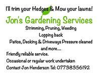 Jon's Gardening Services