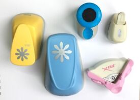 Paper punches for card making, scrapbooking etc.