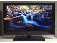 """Samsung 32"""" Full Hd tv with freeview and hdmi. Excellent condition"""