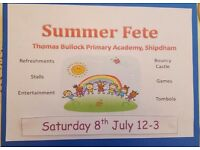 Looking for stall holders - summer fete