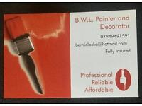 Professional and competitive painter available MANCHESTER