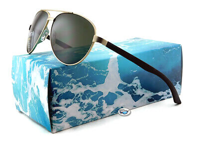 New Smith SALUTE Stainless Steel Polarized Aviator Sunglasses