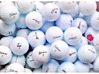 150 Branded used Golf Balls including Titleist, Pinnacle, Nike etc.