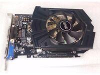 ASUS GEFORCE GTX750 1GB memory