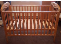 Solid Beech Cot (bought from Next)