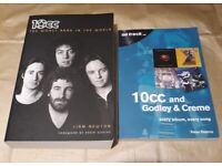 10CC 'The Worst Band in the World' & '10CC and Godley & Creme On Track' books. Free postage