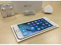 Boxed Gold Apple iPhone 6 Plus 16GB Mobile Phone on ee / t mobile / virgin + Warranty