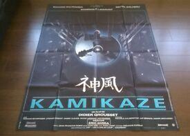 luc besson ' kamikaze ' plus ' luc besson ' atlantis ' two original cinema posters