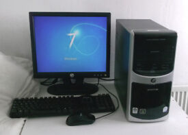 Core 2 Duo (PC, Monitor, K/M) All In One, 2.2GHz, 2GB Ram, Win 7, Office) Computer, Desktop PC, Mini