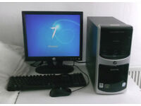 Core 2 Duo (PC, Monitor, K/M) All In One, 2.2GHz, 2GB Ram, Win 7, Office) Computer, Desktop PC, Mini