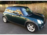 AUTOMATIC MINI COOPER PANORAMIC ELECTRIC SUNROOF AIR CONDITIONING SERVICE HISTORY LEATHER TRIM AUTO