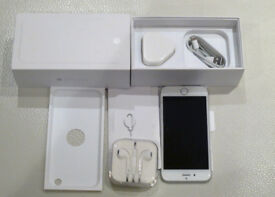 Apple iPhone 6 - 16GB - Silver Smartphone - Mint - Boxed