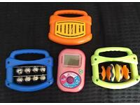 Leap Frog Learn and Groove and x3 ELC musical instruments