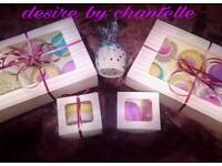 Highly fragranced wax melts and burners