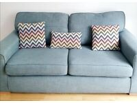 Free sofa 2seater, pet and smoke free home