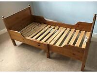 Ikea Single bed (extendable) with mattress - sold!