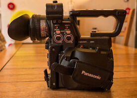 Panasonic AG-AF101 Camcorder, Peli Storm Case, 4 Batteries, Raincover VGC (offers welcome)