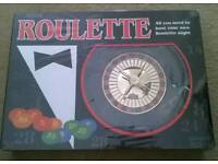 ROULETTE GAME NEW IN BOX