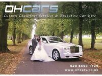 LAST MINUTE PROM CAR HIRE - WEDDING CAR HIRE - ROLLS ROYCE PHANTOM HIRE - LAMBORGHINI HIRE