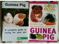 How to look after your Guinea Pig books