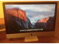 iMac - 27inch - Late 2009 - Upgraded Ram 8G - New Hard Drive