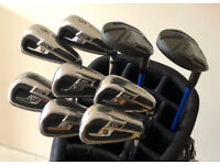 MINT WILSON STAFF IRONS & ADAMS HYBRIDS - £235 - CASH ON COLLECTION ONLY