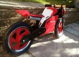 Kiddimoto Superbike (Red/White) - nearly new