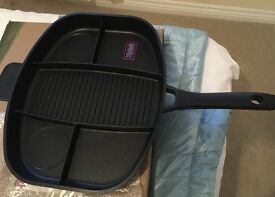 Brand new frying pan never been used and comes in original packaging