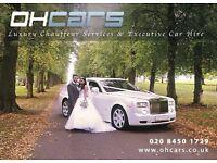 Rolls-Royce Phantom Hire - Wedding car hire - Lamborghini Hire - prom hire - Car hire