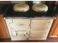 AGA Stove. 1950s. Oil fired. Newry, Co Down