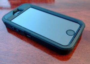 iPhone 5s with Otterbox case - $175