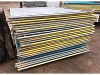 🔩 Temporary Solid Hoarding Panels ~ Site Security Fencing