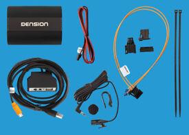 Dension Gateway 500S BT - Bluetooth, Aux, USB etc