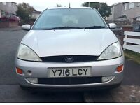 Ford Focus 2001 Silver Automatic Spares or Repair - 5 door hatchback