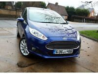 FORD FIESTA 1.0 ECOBOOST .......AUTOMATIC.....ONLY 18 K MILES. PARKING SENSORS. FREE ROAD TAX
