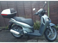 Honda SH125 2006 25k miles with top box, history spare keys and recent tyres not PCX SES PS PES or @