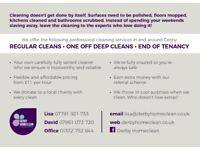 Derby Homeclean - Domestic cleaning in Derby. End of tenancy and Deep cleans