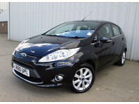 FORD FIESTA 2010 60 PLATE 5 DOOR. 1.2 PETROL ZETEC ENGINE. ONLY 45 K MILES. FULL SERVCIE HISTORY