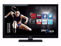 Panasonic TX-L37E5B 37-inch Widescreen Full HD 1080p LED TV with Freeview HD - Black