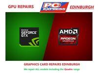 Graphics Card GPU Repair Edinburgh